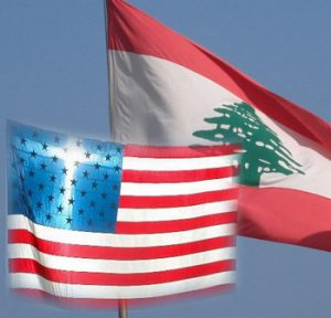 American intervention in Lebanon