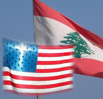 American Lebanese Flags