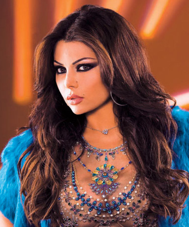 Lebanese Beauty Icon and Singer Haifa Wehbe